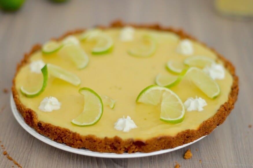 Infos zu dem Rezept für den leckeren Key Lime Pie
