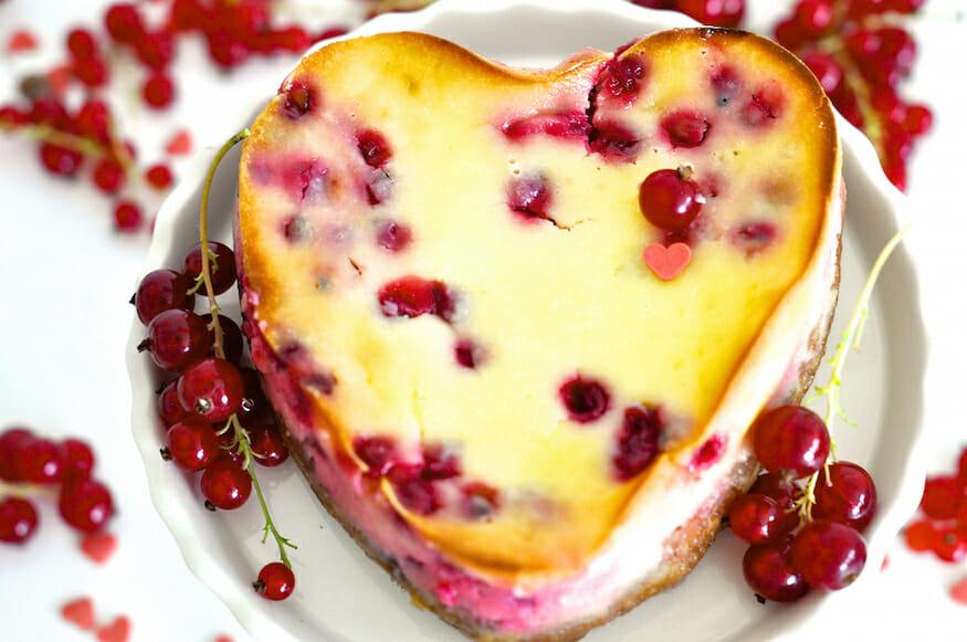 Johannisbeere Käsekuchen alias pink Cheesecake