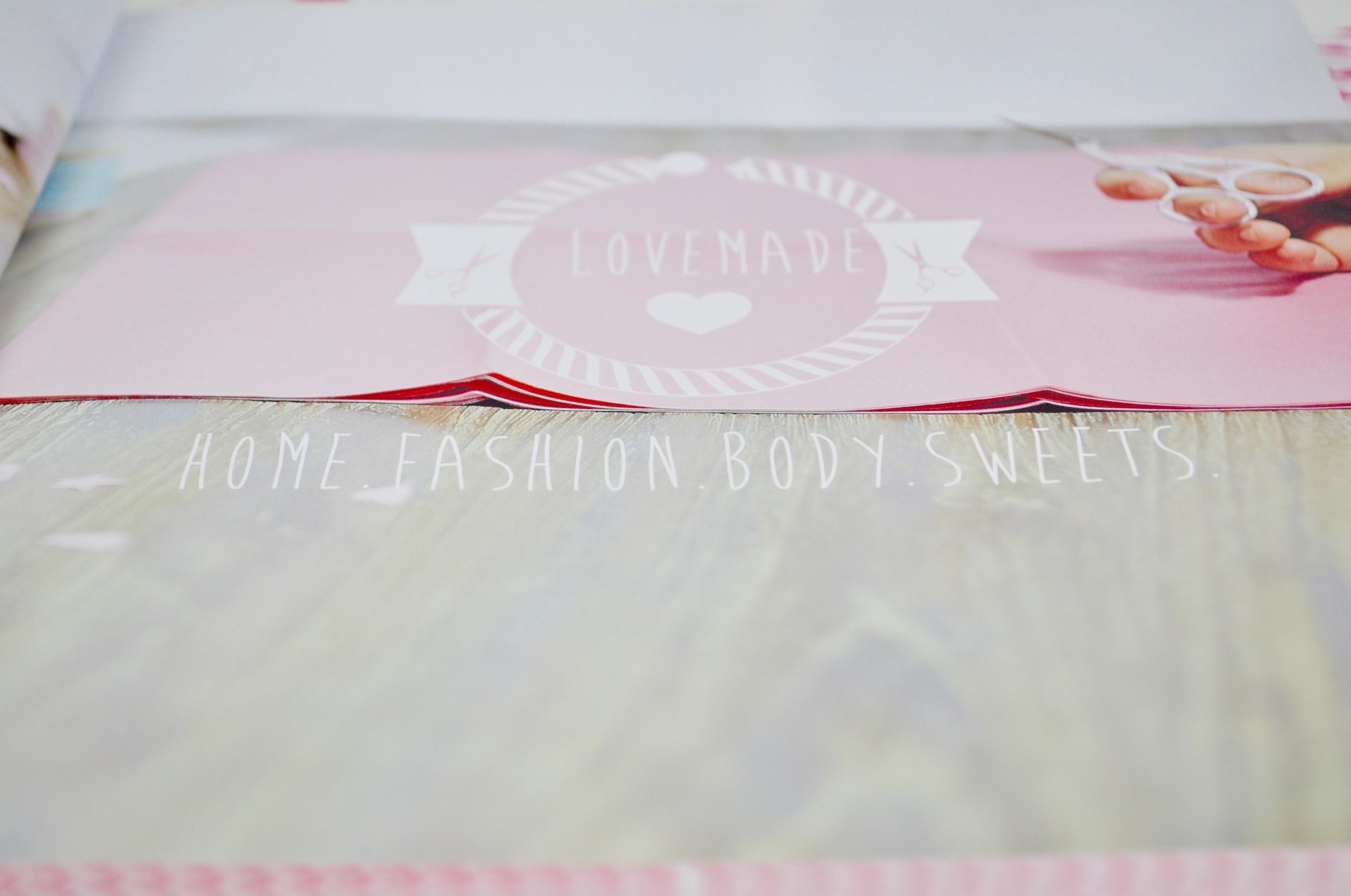 Infos zum neuen DIY Buch Lovemade