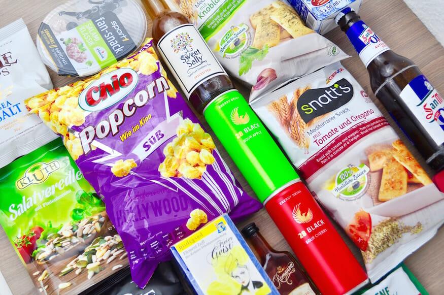 Degustabox - Überraschungsbox mit Lebensmitteln