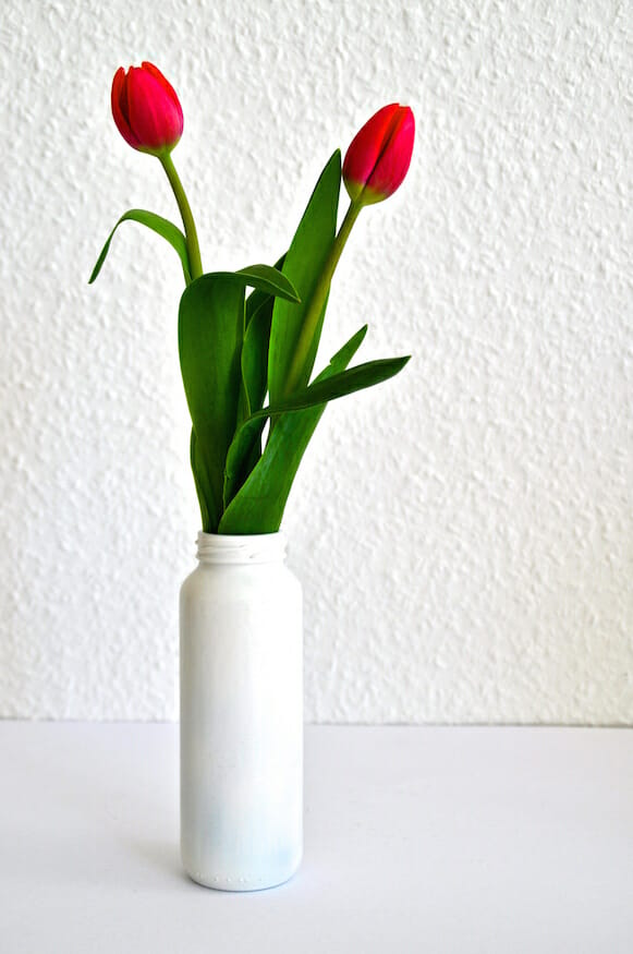 smoothieflasche vase do it yourself von frl selbstgemacht. Black Bedroom Furniture Sets. Home Design Ideas