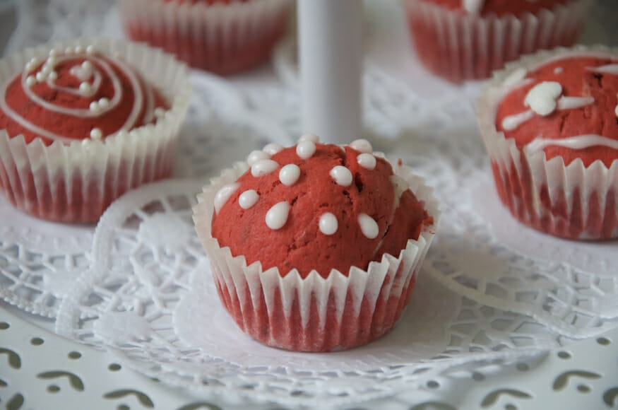Leckere Red Velvet Muffins