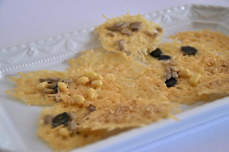 Leckere Parmesancracker